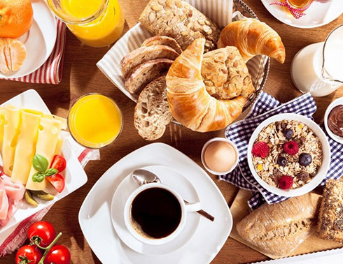 Jarný balíček s raňajkami